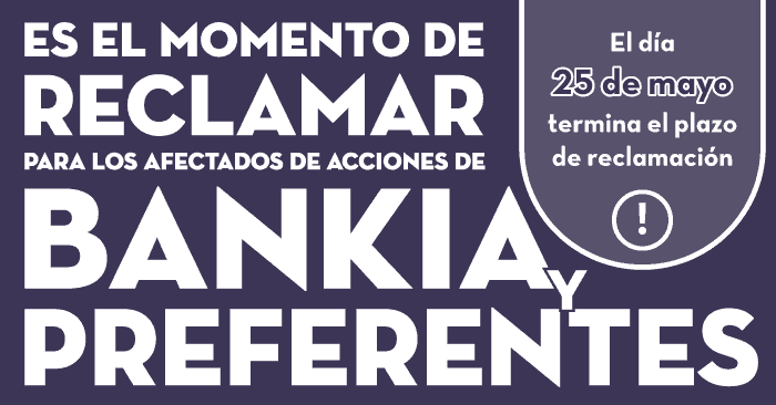 Ultimos Dias Reclamar Inversion Bankia